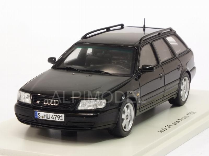 Audi S6 Plus Avant 1996 (Black) by spark-model