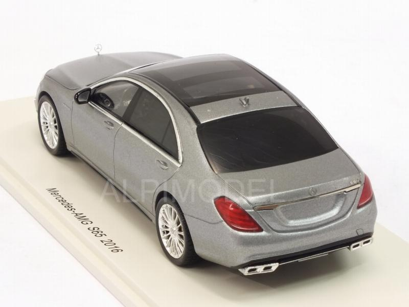 Mercedes AMG S65 2016 (Silver) - spark-model