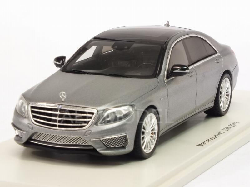 Mercedes AMG S65 2016 (Silver) by spark-model