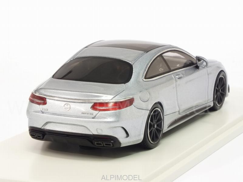Mercedes AMG S63 Coupe 2016 (Silverblue) - spark-model