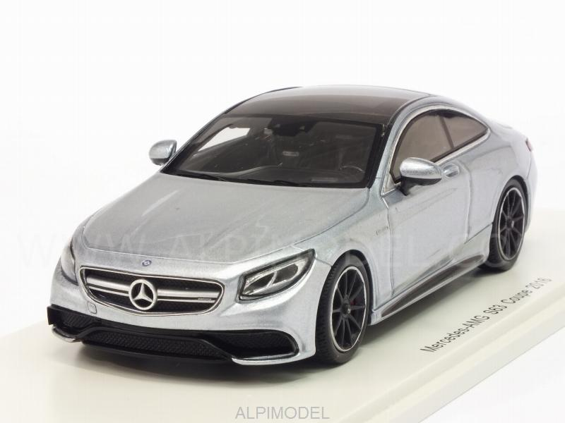 Mercedes AMG S63 Coupe 2016 (Silverblue) by spark-model