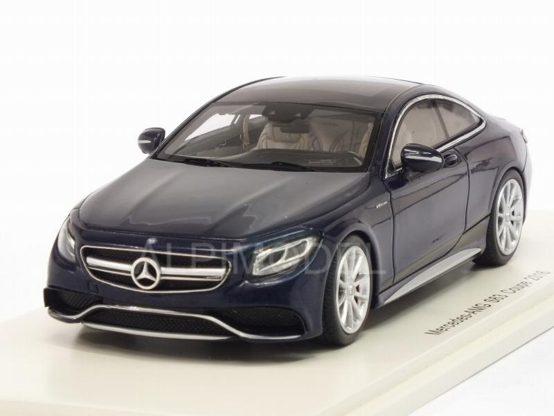 Mercedes AMG S63 Coupe 2016 (Blue) by spark-model