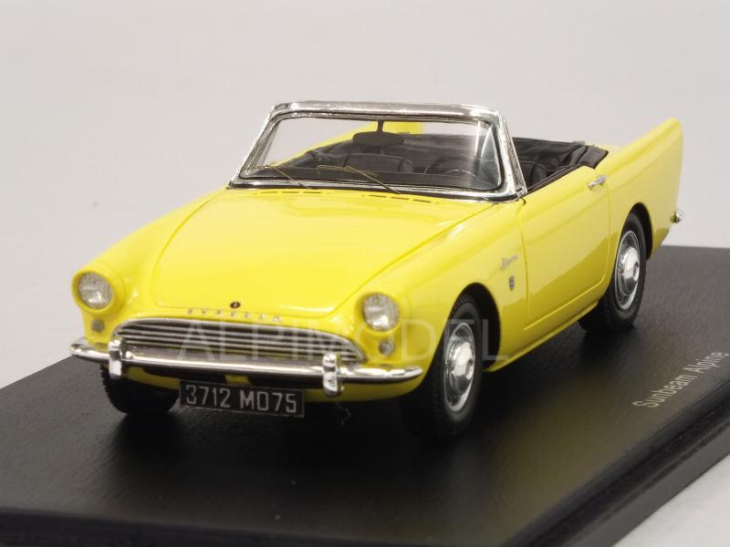 Sunbeam Alpine Convertible 1964 (Yellow) by spark-model