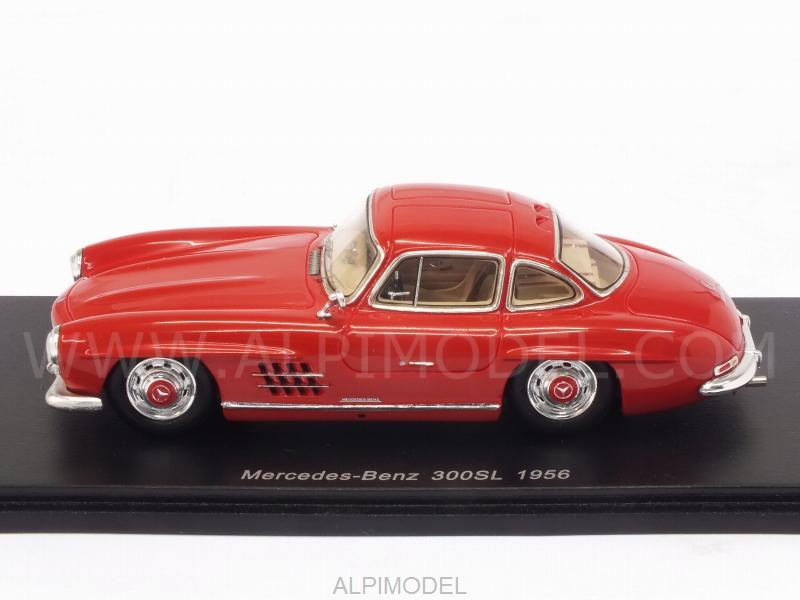 spark model s4959 mercedes 300 sl 1956 red 1 43. Black Bedroom Furniture Sets. Home Design Ideas