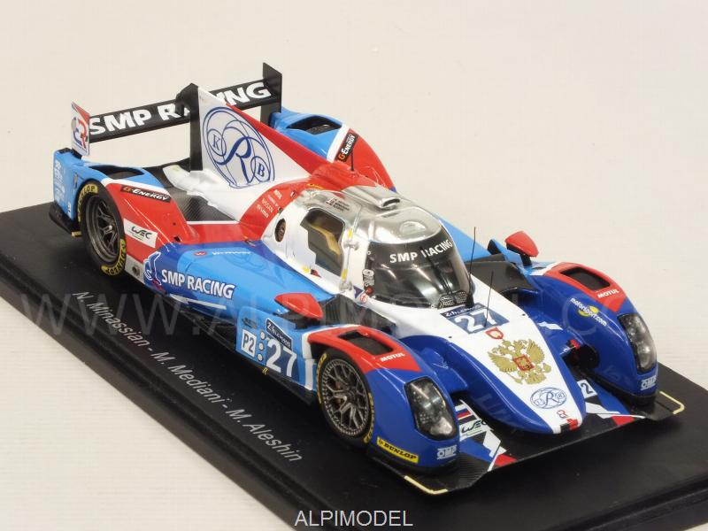 BR Engineering BR01 Nissan #27 Le Mans 2016 Minassian - Mediani - Aleshin - spark-model