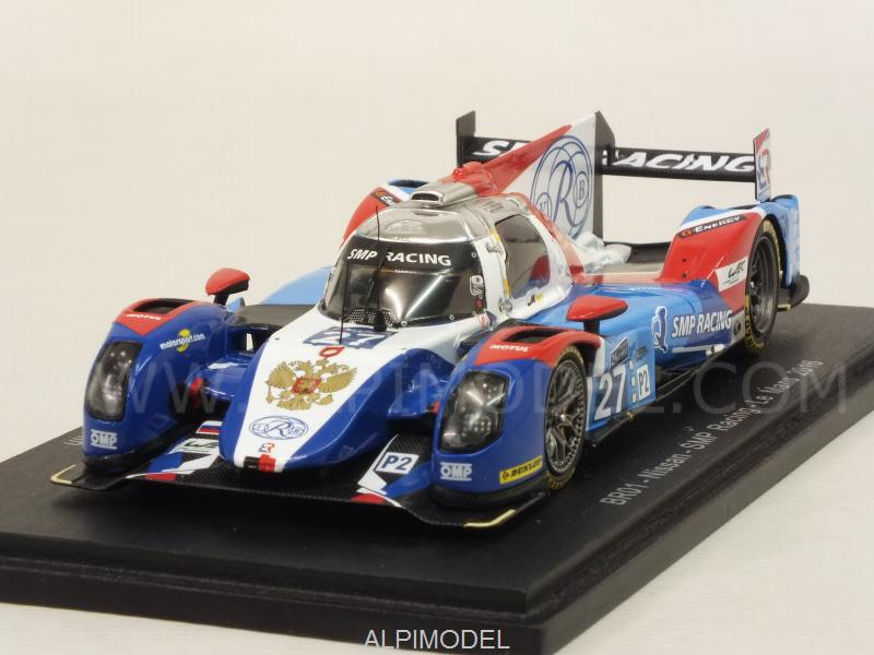 BR Engineering BR01 Nissan #27 Le Mans 2016 Minassian - Mediani - Aleshin by spark-model