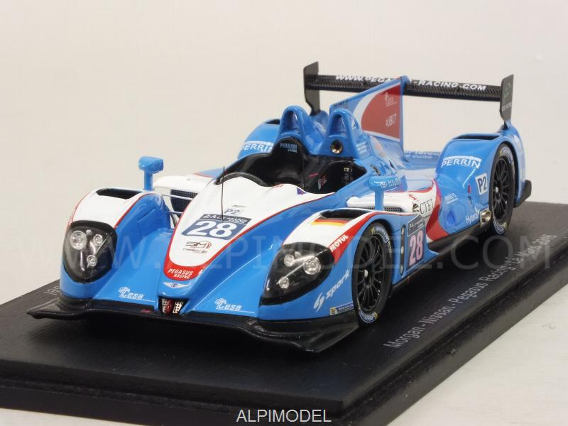 Morgan Nissan #28 Pegasus Racing #28 Le Mans 2016 Taittinger - Striebig - Riussel by spark-model