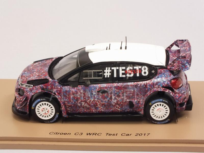 Citroen C3 WRC Test Car 2017 - spark-model