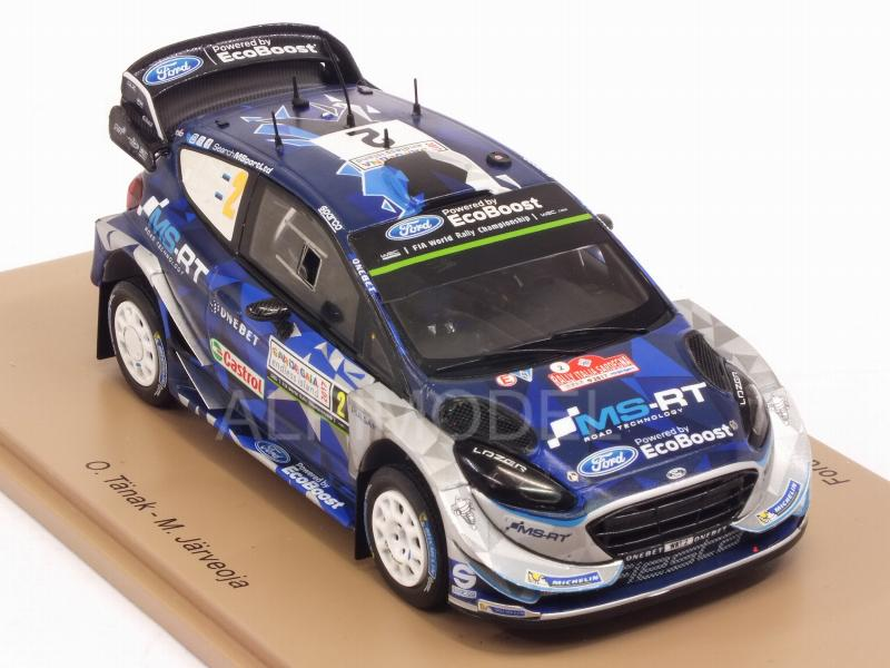 RALLYE ITALIE 2017 1//43 S5167 SPARK FORD FIESTA WRC