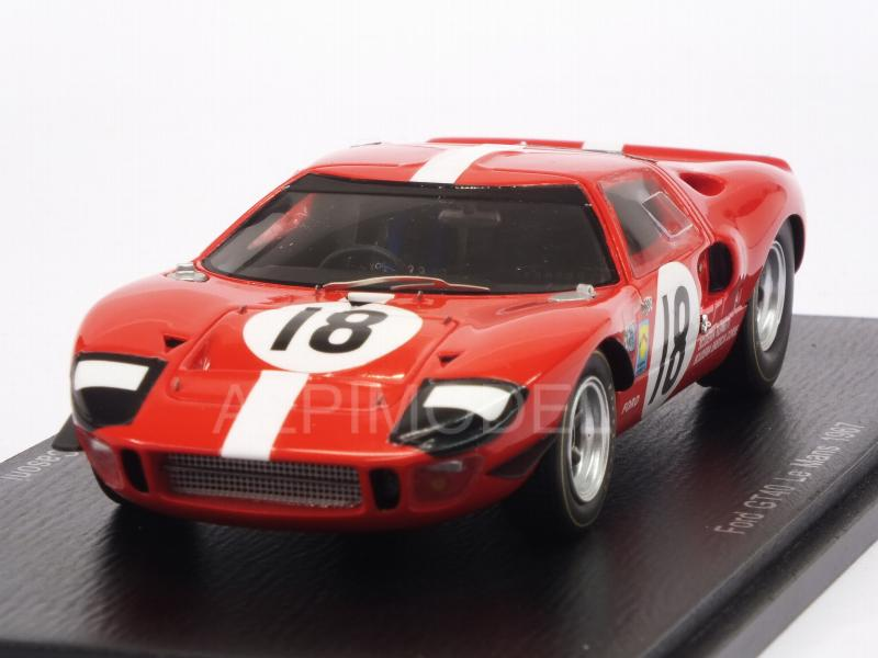 Ford GT40 #18 Le Mans 1967 Maglioli - Casoni by spark-model
