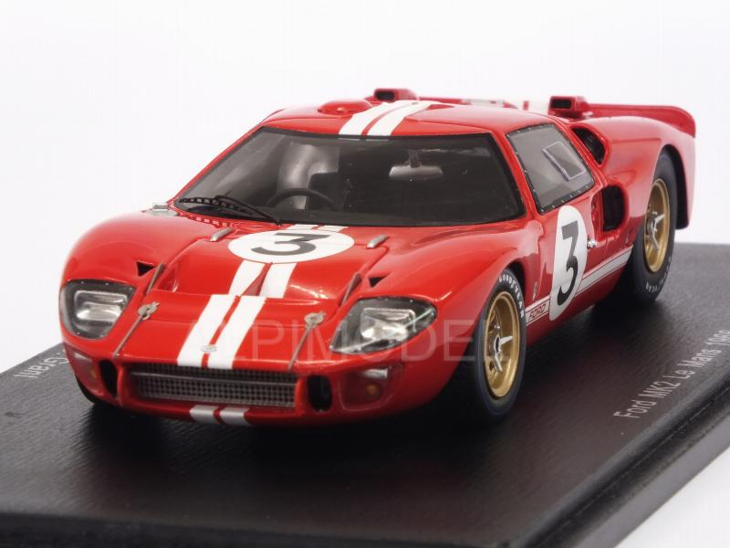 Ford Mk2 #3 Le Mans 1966 Gurney - Grant by spark-model