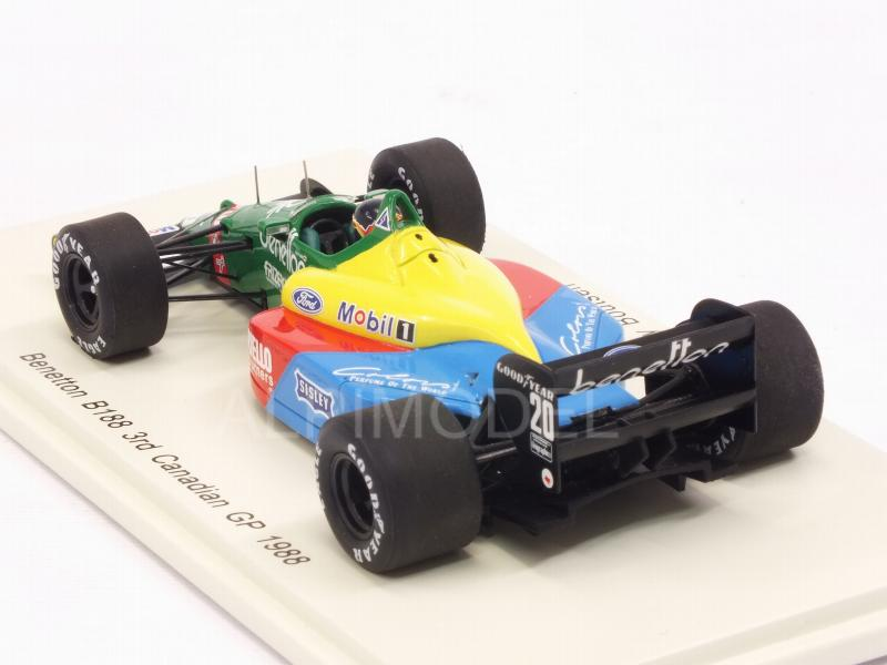 Benetton B188 #20 GP Canada 1988 Thierry Boutsen - spark-model