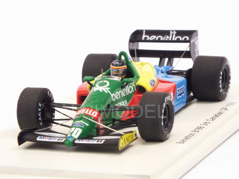 Benetton B188 #20 GP Canada 1988 Thierry Boutsen by spark-model