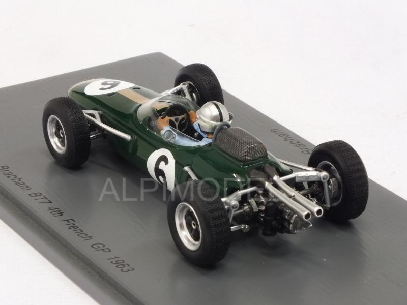 Brabham BT7 #6 GP France 1963 Jack Brabham - spark-model