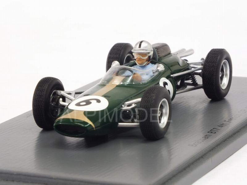Brabham BT7 #6 GP France 1963 Jack Brabham by spark-model
