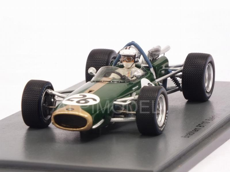 Brabham BT19 #26 GP Belgium 1967 World Champion Denny Hulme by spark-model