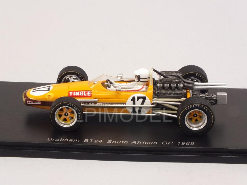 Brabham BT24 #17 GP South Africa 1969 Sam Tingle - spark-model