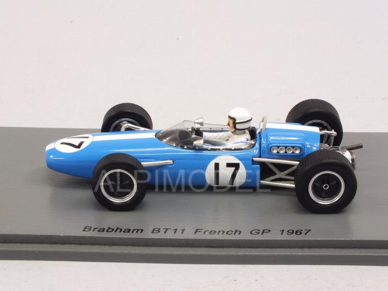 Brabham BT11 #17 GP France 1967 Bob Anderson - spark-model