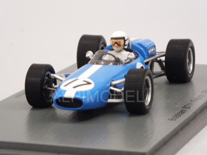 Brabham BT11 #17 GP France 1967 Bob Anderson by spark-model