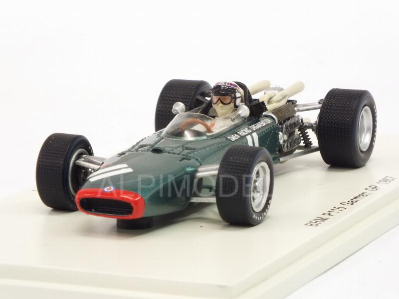 BRM P115 #11 GP Germany 1967 Jackie Stewart by spark-model
