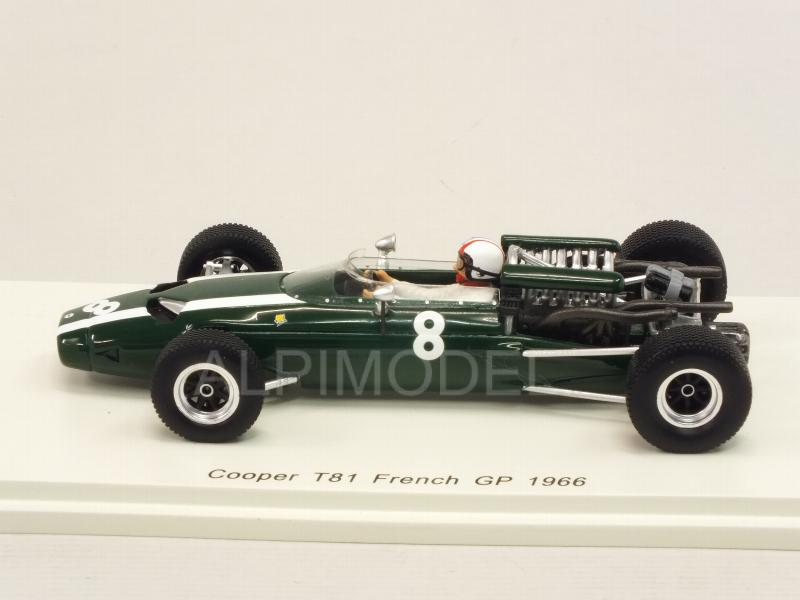 Cooper T81 #8 GP France 1966 Chris Amon - spark-model