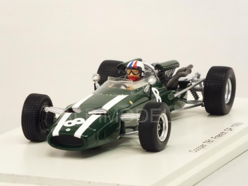 Cooper T81 #8 GP France 1966 Chris Amon by spark-model
