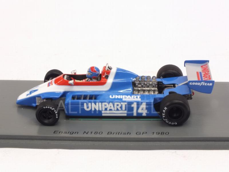 Ensign N180 #14 British GP Germany 1980 Jan Lammers - spark-model