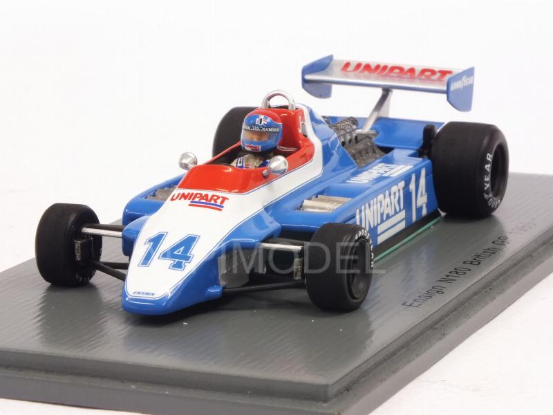 Ensign N180 #14 British GP Germany 1980 Jan Lammers by spark-model