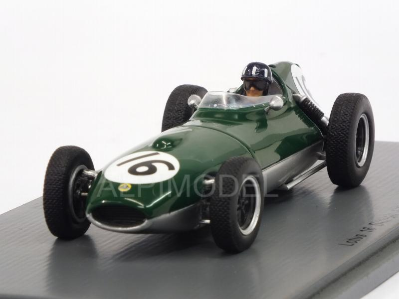Lotus 16 #16 British GP 1958 Graham Hill by spark-model