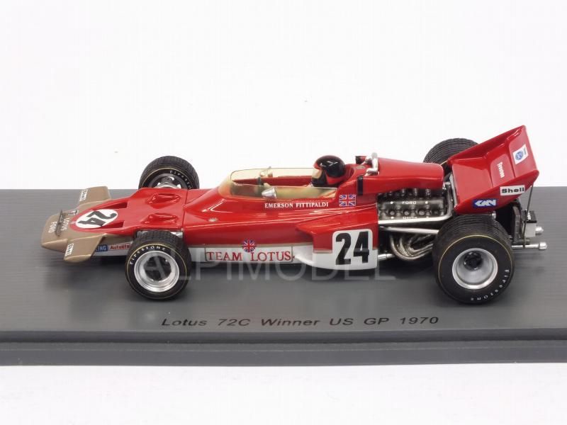 Lotus 72C #24 Winner GP USA 1970 Emerson Fittipaldi - spark-model