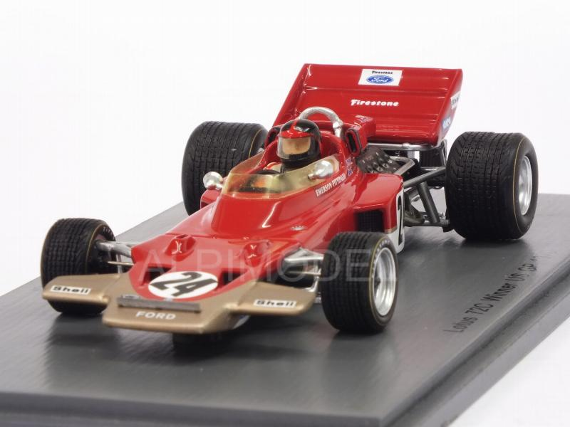 Lotus 72C #24 Winner GP USA 1970 Emerson Fittipaldi by spark-model