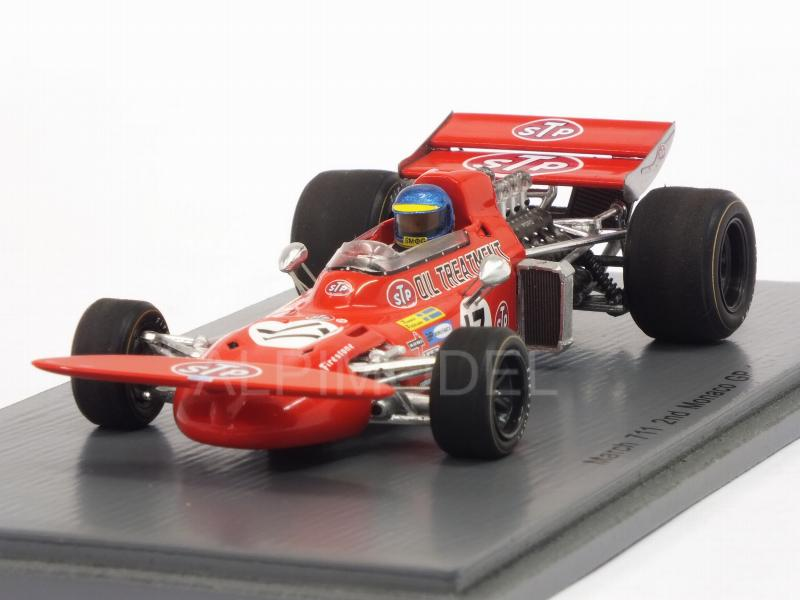 March 711 #17 GP Monaco 1971 Ronnie Peterson by spark-model