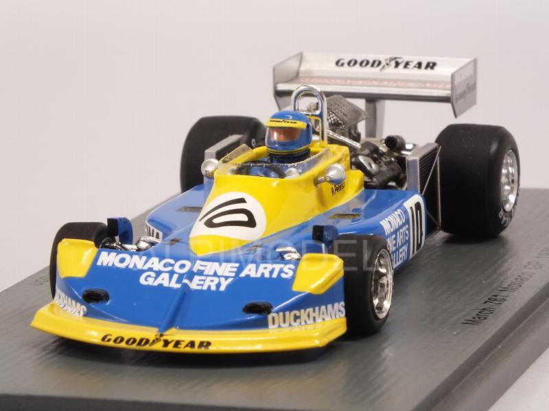 1:43 Spark March 761 GP Monaco Peterson 1976