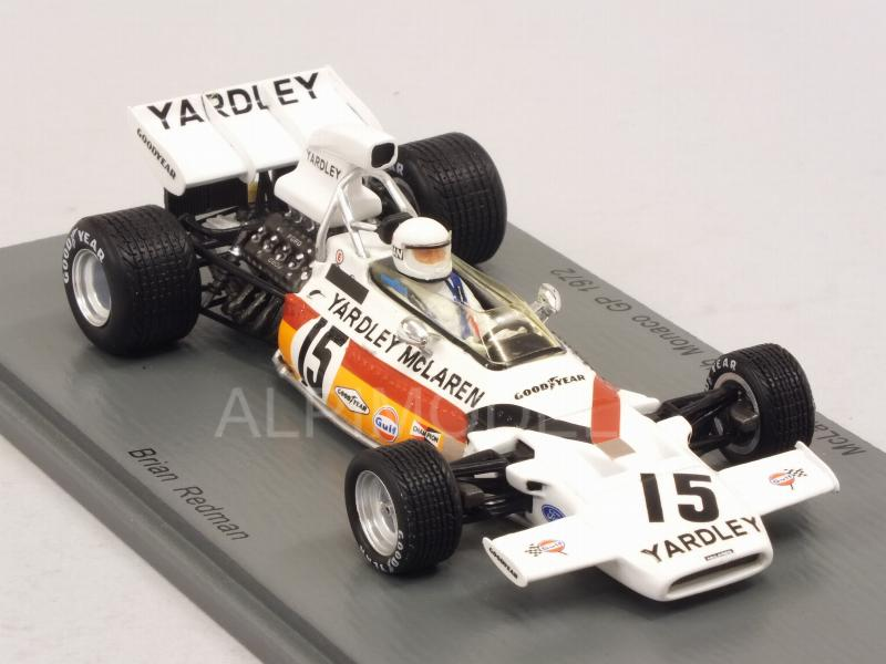 SPARK S5390 MCLAREN M19A n°10 9ème GP France 1971 Peter Gethin  1//43