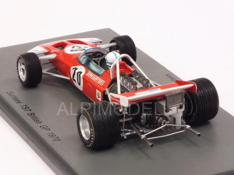 Surtees TS7 #20 British GP 1970 John Surtees - spark-model