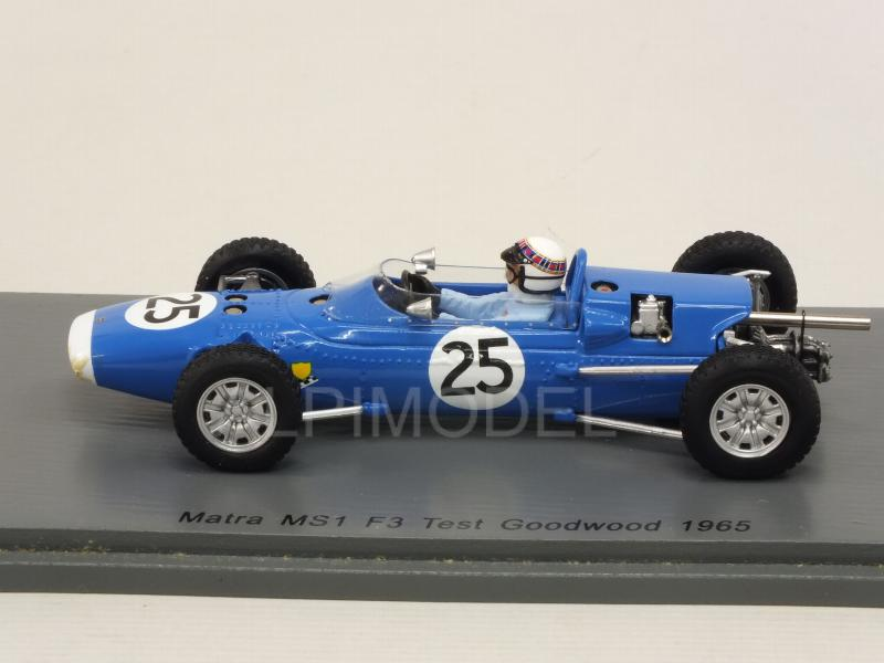 Matra MS1 F3 #25 Test Goodwood 1965 Jackie Stewart - spark-model