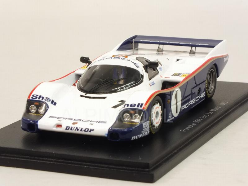 Porsche 956 #1 Le Mans 1983 Ickx - Bell by spark-model