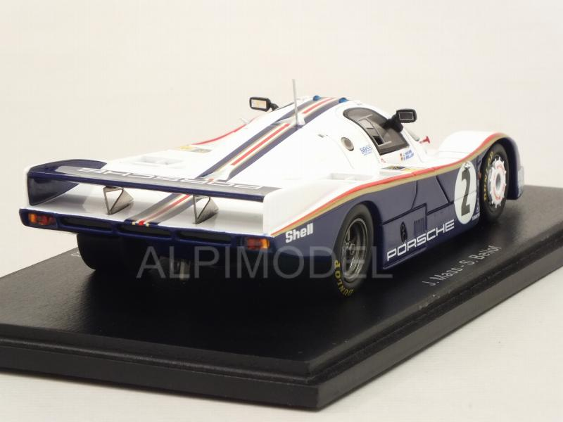 Porsche 956 #2 Le Mans 1983 Mass - Bellof - spark-model