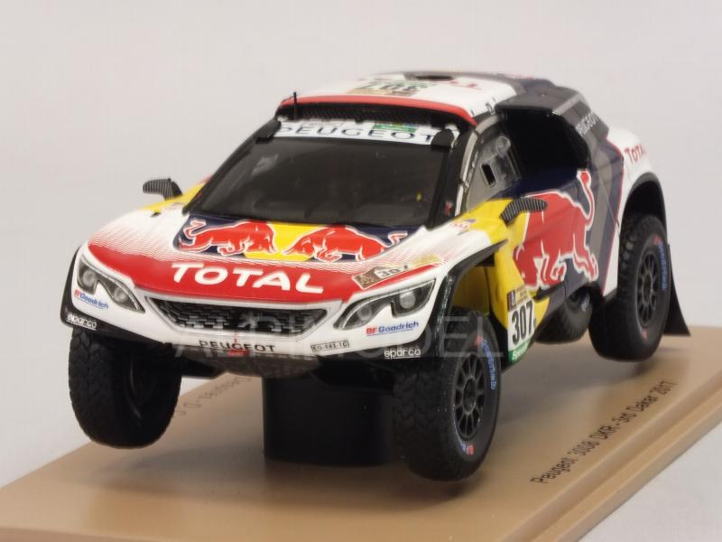 Peugeot 3008 DKR #307 Rally Dakar 2017 Despres - Castera by spark-model
