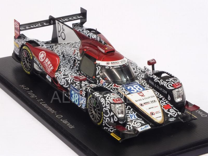 Oreca 07 Gibson #38 2nd Le Mans 2017 Class Winner - Tung - Laurent - Jarvis - spark-model