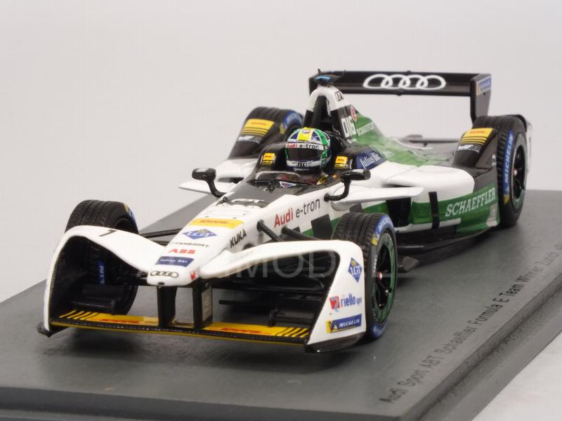 Audi ABT #1 Winner Zurich Formula E Season 4 (2017-2018) Lucas di Grassi by spark-model