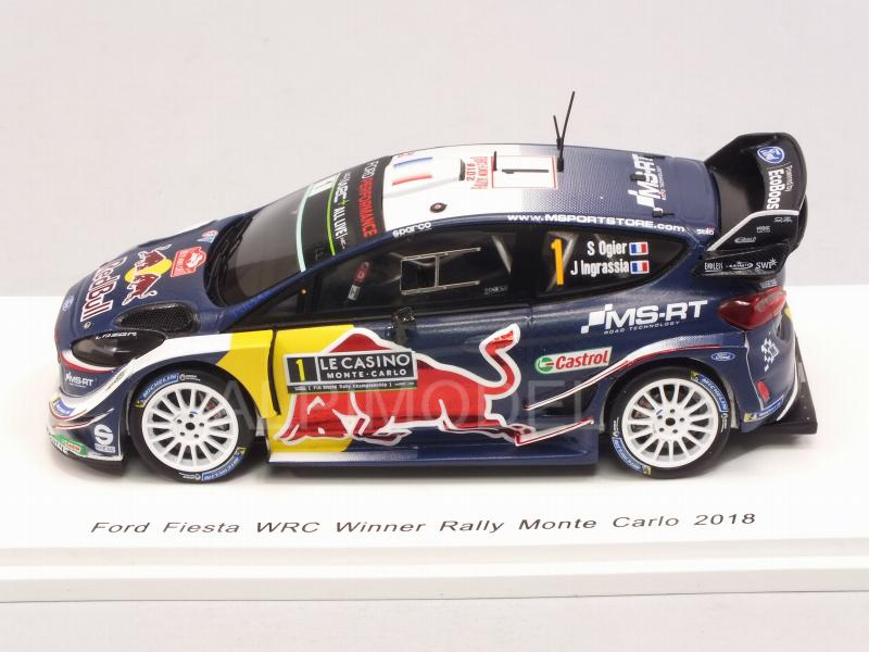 Ford Fiesta WRC #1 Winner Rally Monte Carlo 2018 Ogier - Ingrassia  World Champion - spark-model
