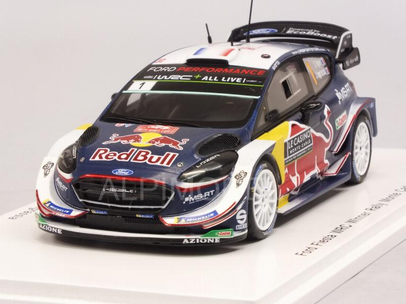Ford Fiesta WRC #1 Winner Rally Monte Carlo 2018 Ogier - Ingrassia  World Champion by spark-model