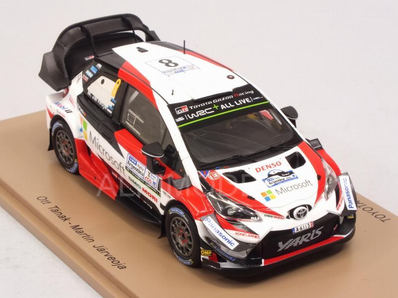 Toyota Yaris WRC #8 vencedores Rally Argentina 2018 tänak järveoja 1:43 Spark