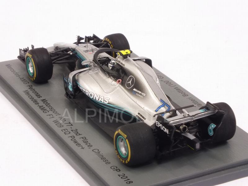 Mercedes W09 AMG F1 #77 GP China 2018 Valtteri Bottas - spark-model