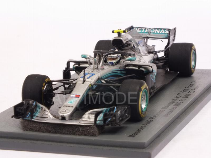 Mercedes W09 AMG F1 #77 GP China 2018 Valtteri Bottas by spark-model