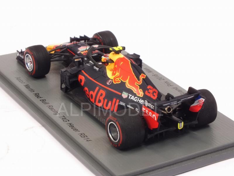 efcab276160 SPARK-MODEL S6059 Red Bull RB14  33 GP Australia 2018 Max Verstappen ...