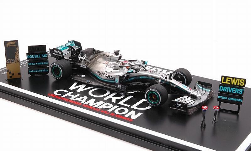Spark 1:43 S6099 2019 F1 Mercedes AMG W10 USA GP Champion NEU! L. Hamilton