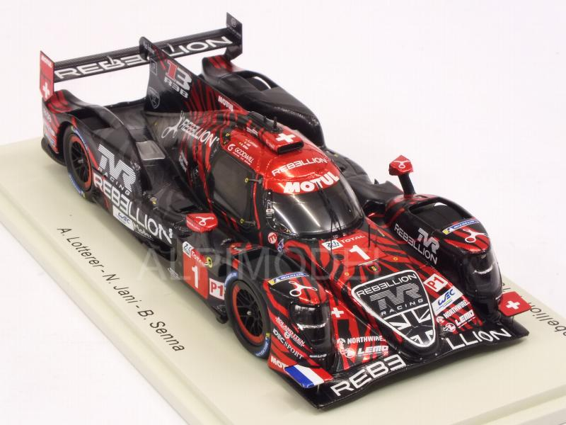Spark model rebellion r13 gibson 1 le mans 2018 lotterer - Rebellion r13 ...