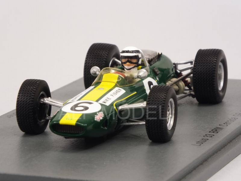 Lotus 33 BRM #6 GP Canada 1967 Mike Fisher by spark-model